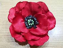 Iné doplnky - Veľké kvety (Divý mak) - 10520056_