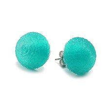 Náušnice - Náušnice bobule smaragd - 10520315_