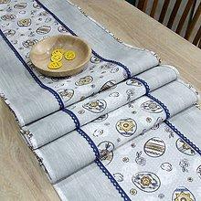 Úžitkový textil - PAVLA - veľkonočný obrus stredový 170x40 - 10518724_