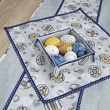 Úžitkový textil - PAVLA - veľkonočný obrus štvorec 40X40 - 10518735_