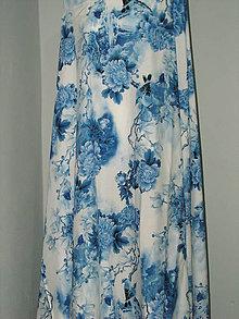 Sukne - dlhá polkruhová sukňa - 10519463_