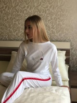 Pyžamy a župany - Dámske pyžamo z organickej bavlny WOMAN - 10520214_