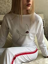 Pyžamy a župany - Dámske pyžamo z organickej bavlny WOMAN - 10520215_
