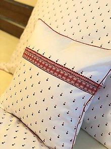Úžitkový textil - Malý vankúš FOLKLORIKA - 10520493_