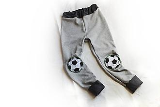 Detské oblečenie - Tepláky Futbal - 10519349_