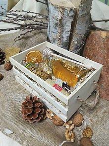 Potraviny - Debnička  plná včelích darov - 10521478_
