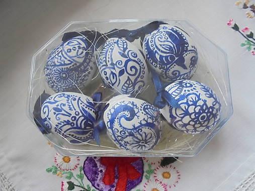 Veľkonočné krasličky (Modrá)