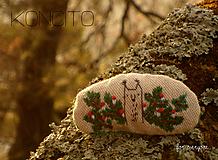 Odznaky/Brošne - brošňa: V e v e r i č k a  v ihličí... - 10522428_