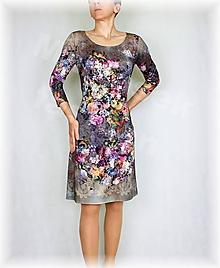Šaty - Šaty vz.425 i krátký rukáv - 10521919_