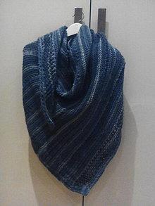 Šatky - Blue jeans - 10523286_