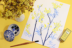 - Akvarelový workshop - Ponorenie do akvarelu I.  6.4.2019 - 10524942_