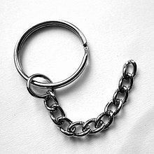 Komponenty - Krúžok na kľúče s retiazkou-1ks - 10524076_