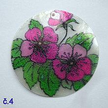 Korálky - Perleťový prívesok 5cm-1ks - 10524225_