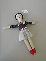 - Gombíková bábika Coco - 10522408_
