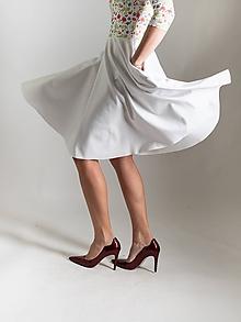 Šaty - Rozkvetlé-biobavlna vel.S i na míru/více barev - 10521847_