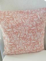 Úžitkový textil - deekoračný vankúš marhuľový - 10523486_