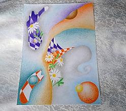 """Obrazy - kreslený - """"Výkvet"""" - 10522692_"""