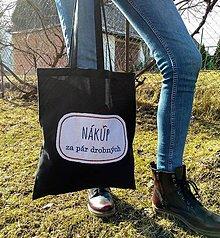 Nákupné tašky - Plátenka (Nákup za pár drobných) - 10521963_