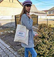 Nákupné tašky - Plátenka (Nakúp za pár drobných) - 10521977_