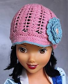 Detské čiapky - Bambusová šiltovka - 10523878_