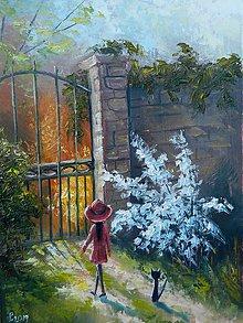 Obrazy - Jaro v tajemnej zahrade - 10524360_