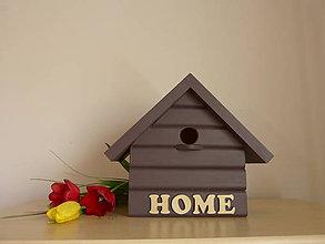 Pre zvieratká - Vtáčia búdka HOME - 10524163_