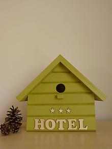 Pre zvieratká - Vtáčia búdka ***HOTEL - 10524224_