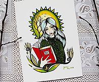 Kresby - Lesný príbeh - 10521907_