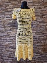 Šaty - háčkované šaty - 10523706_