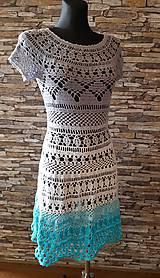 Šaty - háčkované šaty - 10523765_