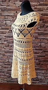Šaty - háčkované šaty - 10523766_