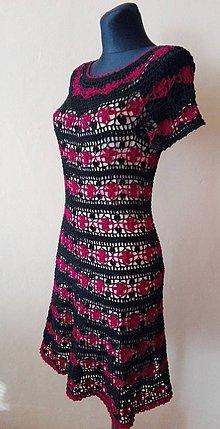 Šaty - háčkované šaty - 10523843_