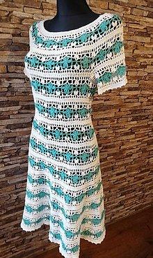 Šaty - háčkované šaty - 10523871_