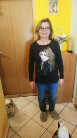 Tričká - Dámske tričko s dlhým rukávom s portrétom SHANIA TWAIN - 10524120_