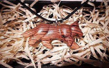 Náhrdelníky - Prívesok pumy - 10524002_