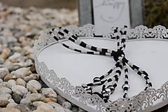 Náhrdelníky - Textilný náhrdelník II - 10522875_