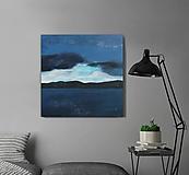 Obrazy - Modrý oceán - 10523243_