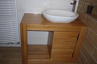 Nábytok - Stolík, skrinka pod umývadlo - 10524194_