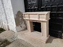 Dekorácie - Krbovy portál. výpredaj 1ks - 10522287_