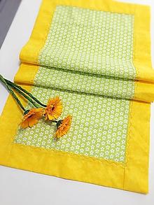 Úžitkový textil - JARNÝ OBRUS, ŠTÓLA, BEHÚŇ - 10525157_