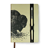 Papiernictvo - Zápisník A6 Bison - 10521823_