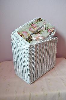 Košíky - Svadobná krabička na dary od hostí - 10522862_