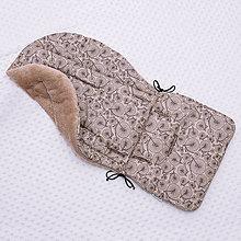 Textil - Podložka do kočíka s fleecom - 10525241_