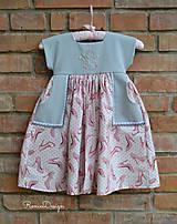 Detské oblečenie - šatky (s monogramom) - 10525636_