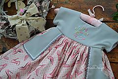 Detské oblečenie - šatky (s monogramom) - 10525637_