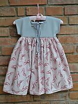 Detské oblečenie - šatky (s monogramom) - 10525640_