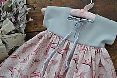 Detské oblečenie - šatky (s monogramom) - 10525641_
