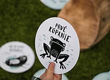 Detské doplnky - Míľnikové kartičky (zvieratká z lesa) (Tyrkysová) - 10525726_