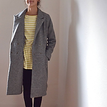 Kabáty - girlfriend coat .vlna - 10526839_