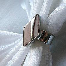 Prstene - Prsteň s thulitom ☼ LILOU ☼ - 10526063_